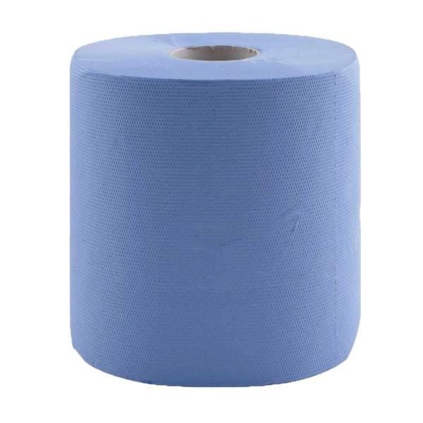 Putztuchrollen/Papierrollen ECO blau