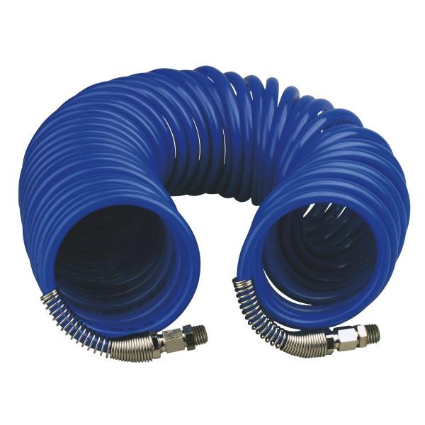 PE Spiral - Druckluftschlauch 8 x 10mm - 5 Meter