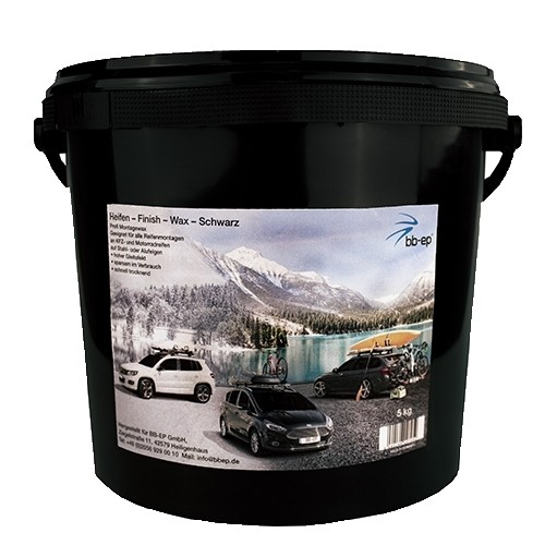 Premium Montagewax - Schwarz - 5 KG