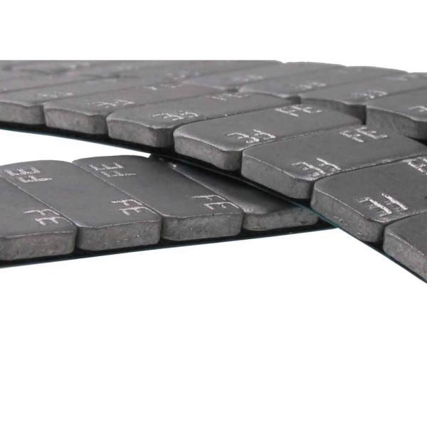 Riegel Stahl 30g dünn Teilung 2.5g - 100 Stück
