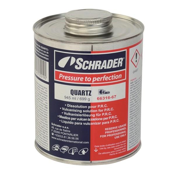 Schrader Dose mit Lösungsmittel Quartz 945 ml