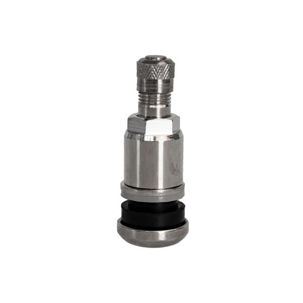 Metallventil Messing - MS525 - silber- 20 Stk.
