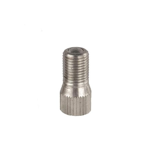 Gerade Ventilverlängerung Metall 13mm - 100 Stück
